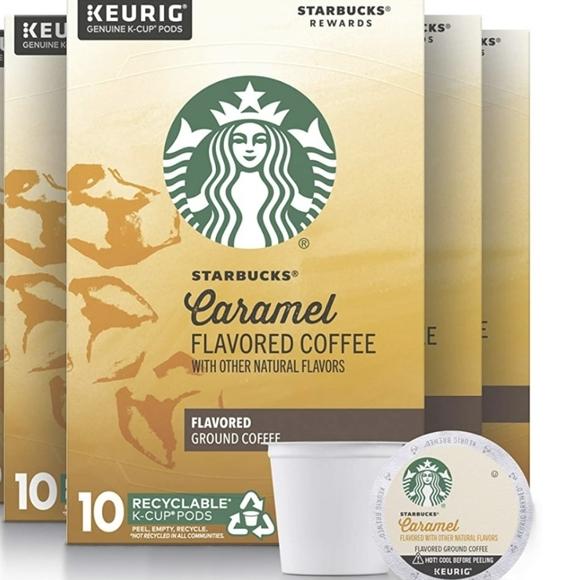 20 K-Cup Starbucks Caramel Flavored Med. Roast